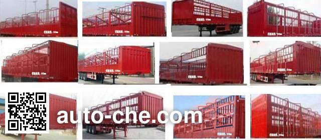 Huajing YJH9401CCY stake trailer