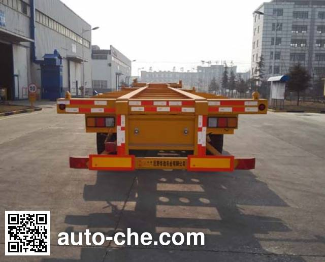 Huajing YJH9400TJZED container transport trailer