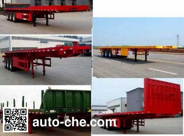 Huajing YJH9400TPB flatbed trailer