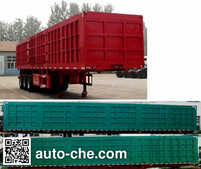 Huajing YJH9401XXY box body van trailer
