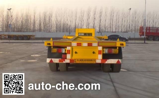 华劲牌YJH9403TJZE集装箱运输半挂车
