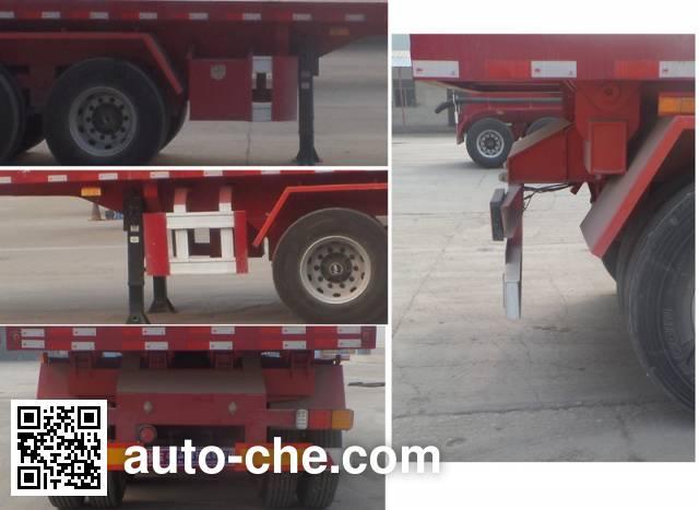 Yunyu YJY9400ZZXP flatbed dump trailer
