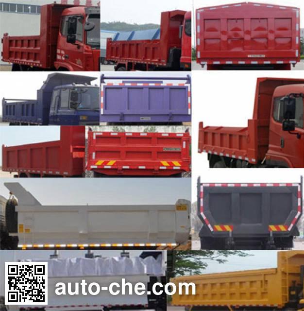 Yanlong (Hubei) YL3040GSZ1 dump truck