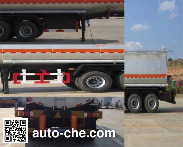 Shacman YLD9400GYY oil tank trailer