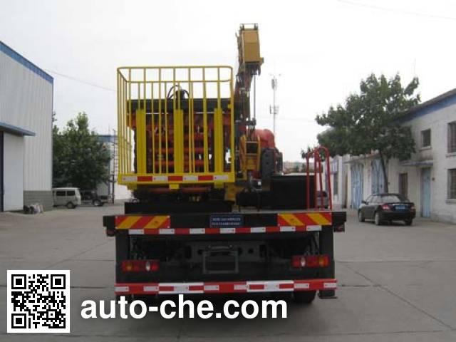 油龙牌YLL5120TJX检修车