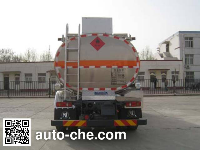 Youlong YLL5160GRY flammable liquid tank truck