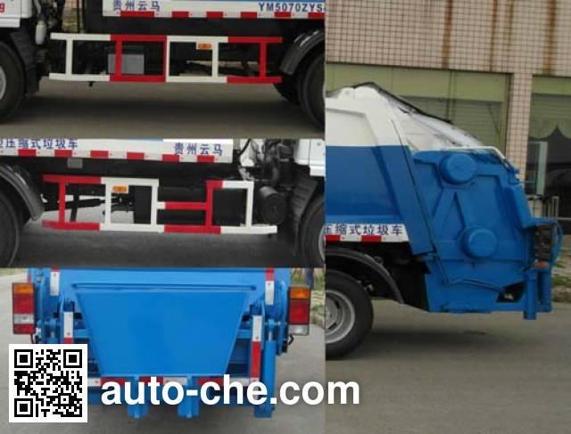 Yunma YM5070ZYS4 garbage compactor truck