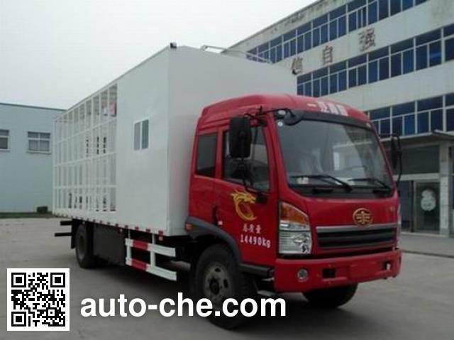 亚隆牌YMK5140CYFJ1养蜂车