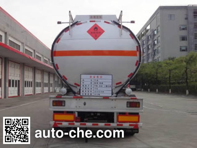 Yongqiang YQ9300GYYT2 oil tank trailer