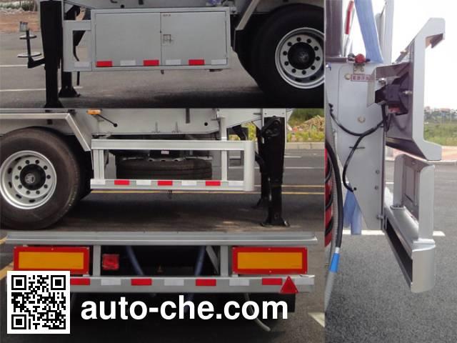 Yongqiang YQ9340GYYF2 aluminium oil tank trailer