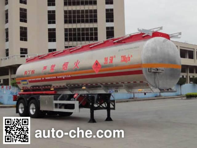 Yongqiang YQ9344GRYSLA flammable liquid tank trailer