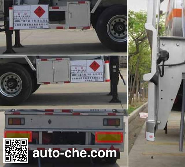 Yongqiang YQ9350GYYF2 oil tank trailer