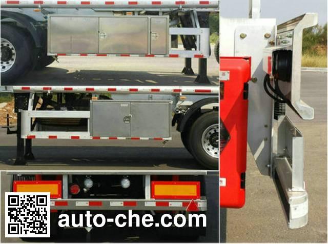 Yongqiang YQ9351GYYCT2 aluminium oil tank trailer