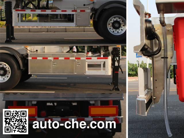 Yongqiang YQ9351GYYT1 aluminium oil tank trailer
