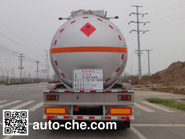 Yongqiang YQ9400GRYCY2 flammable liquid tank trailer