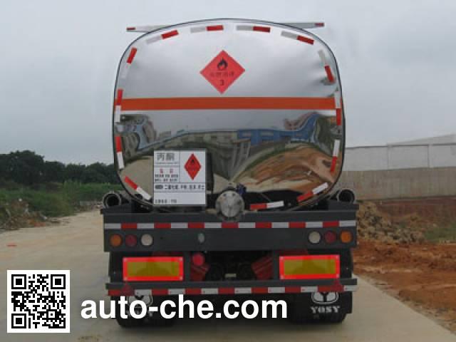 Yongqiang YQ9400GRYF2 flammable liquid tank trailer