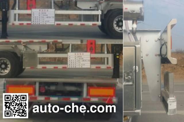 Yongqiang YQ9400GSYCT2 edible oil transport tank trailer