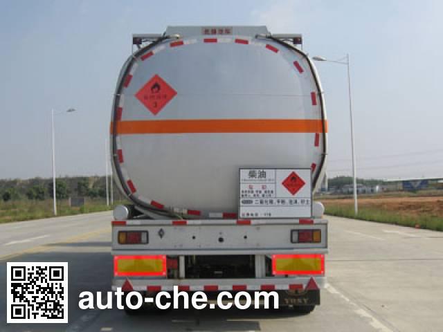 Yongqiang YQ9400GYYF2 aluminium oil tank trailer
