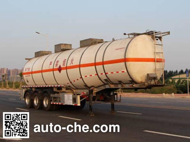 Yongqiang YQ9401GRYY2 flammable liquid tank trailer