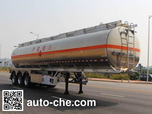 Yongqiang YQ9402GYYCT2 aluminium oil tank trailer