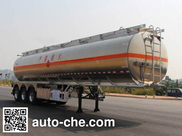 Yongqiang YQ9401GYYT2 aluminium oil tank trailer