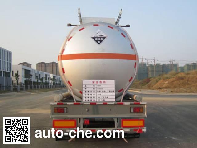 Yongqiang YQ9402GFWY2 corrosive materials transport tank trailer