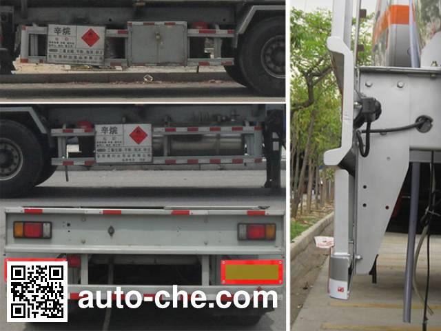 Yongqiang YQ9402GRYY1 flammable liquid tank trailer