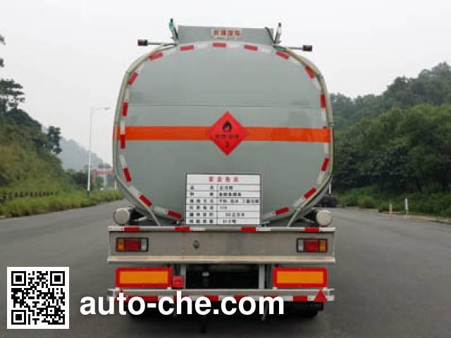 Yongqiang YQ9403GRYF2 flammable liquid tank trailer