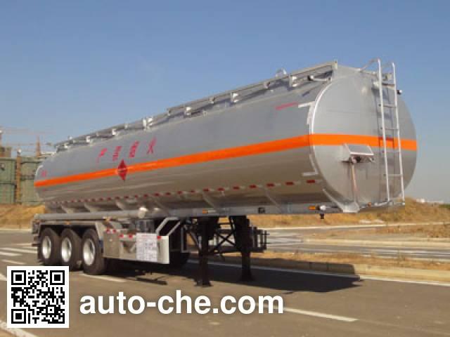 Yongqiang YQ9401GRYT2 flammable liquid tank trailer