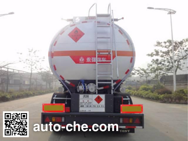 Yongqiang YQ9404GRYDLA flammable liquid tank trailer