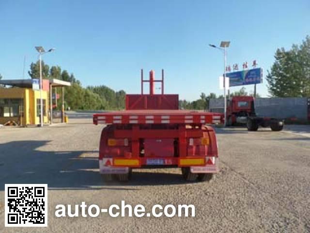 Ruiyun YRD9350ZZXP flatbed dump trailer