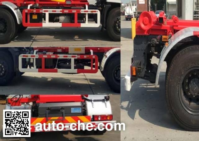 Sanlian YSY5180ZXXE5 detachable body garbage truck