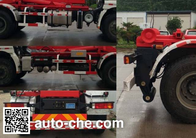 Sanlian YSY5255ZXXSE5 detachable body garbage truck