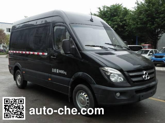 Shuchi YTK5040XXYEV1 electric cargo van