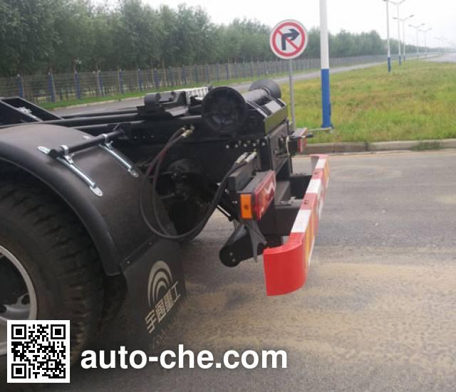 Yutong YTZ5060ZXX20D5 detachable body garbage truck