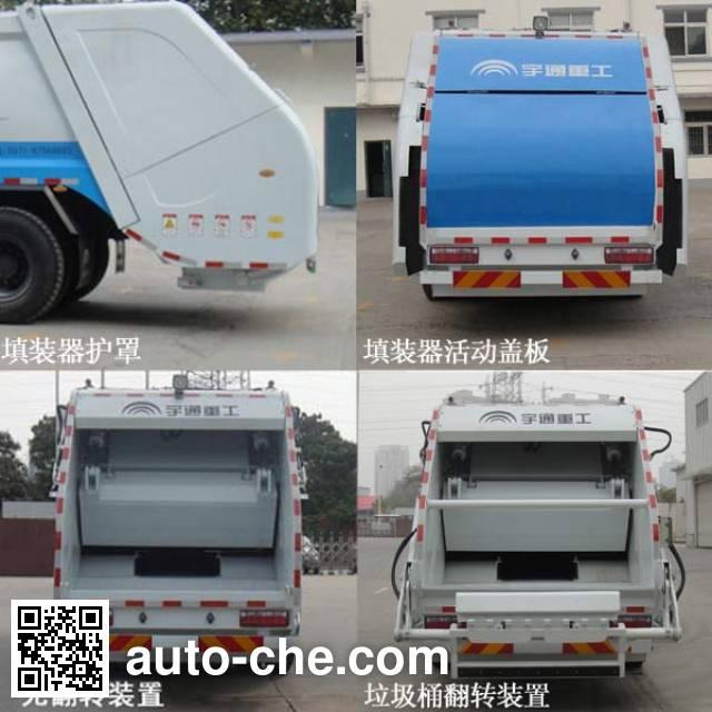 Yutong YTZ5160ZYS21G garbage compactor truck