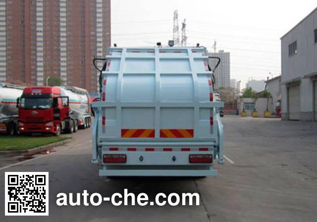 宇通牌YTZ5160ZYS21G压缩式垃圾车
