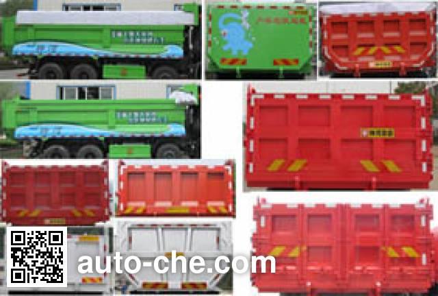 Shenhe YXG3318A7A dump truck