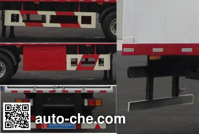 Shenhe YXG9400XXYD1 box body van trailer