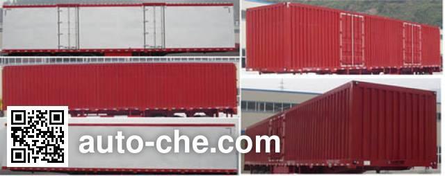 Shenhe YXG9403XXYD1 box body van trailer