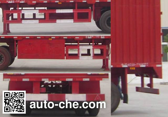 Shenhe YXG9403XXY box body van trailer