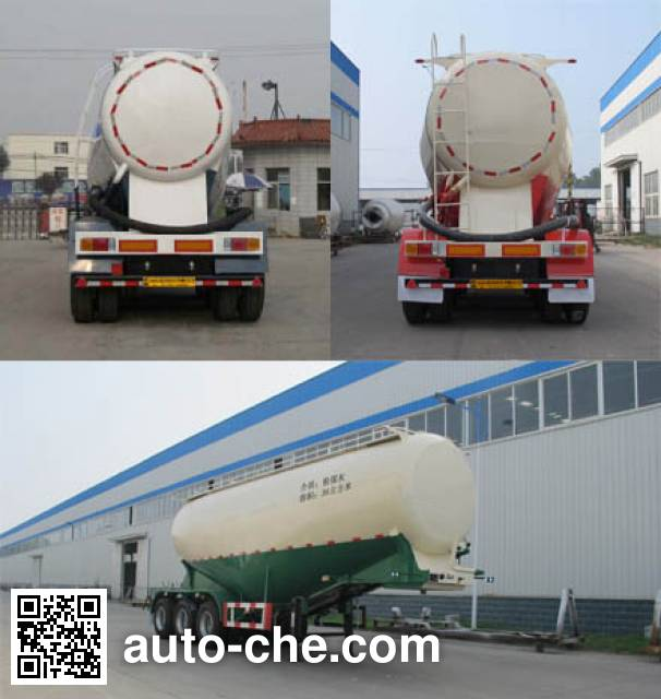 Yongchao YXY9401GFL medium density bulk powder transport trailer
