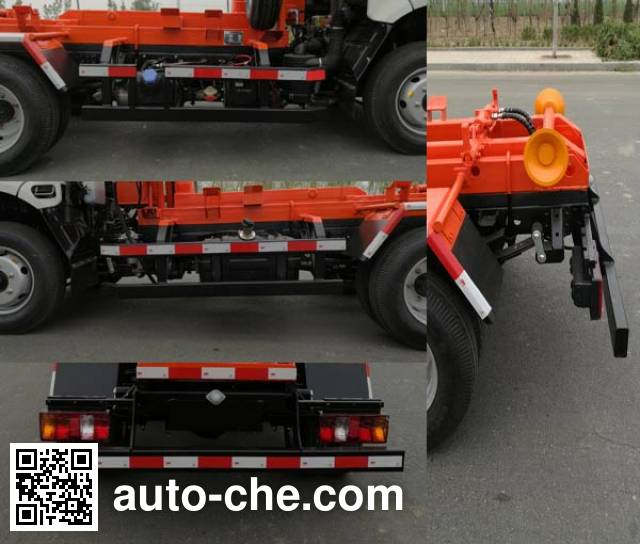 衡霸牌YYD5040ZXXY5车厢可卸式垃圾车