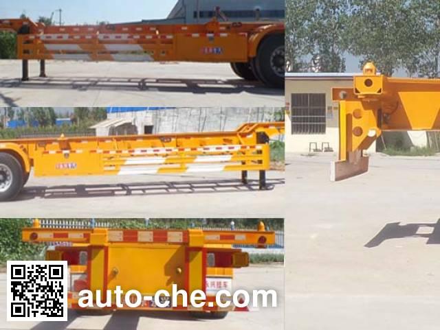 Guangen YYX9400TJZE container transport trailer