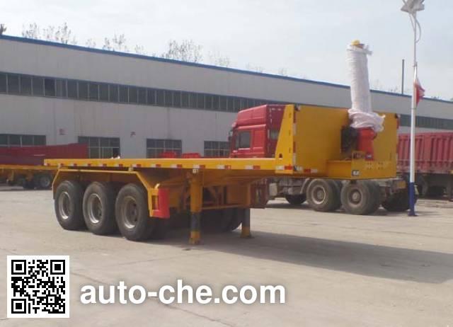 Guangen YYX9400ZZXP flatbed dump trailer