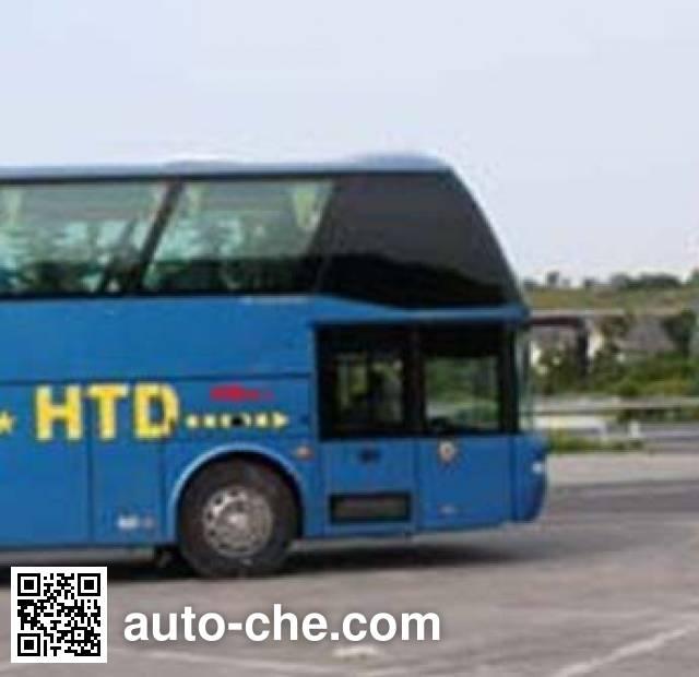 渝州牌YZ6120D160DR客车