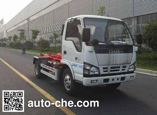 Weichai Senta Jinge YZT5070ZXXE4 detachable body garbage truck