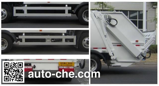 Weichai Senta Jinge YZT5073ZYSE5 garbage compactor truck