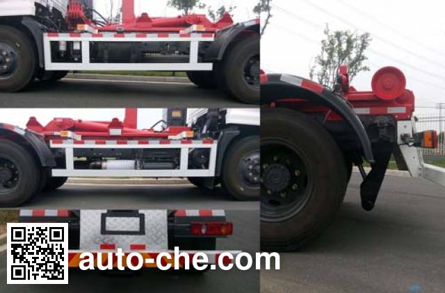 Weichai Senta Jinge YZT5121ZXXE5 detachable body garbage truck
