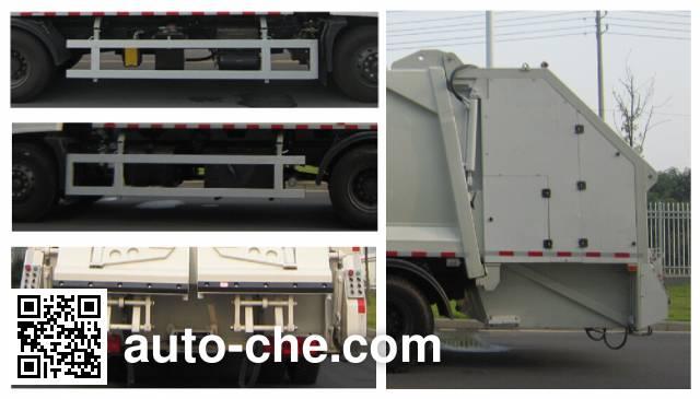 Weichai Senta Jinge YZT5160ZYSE5 garbage compactor truck